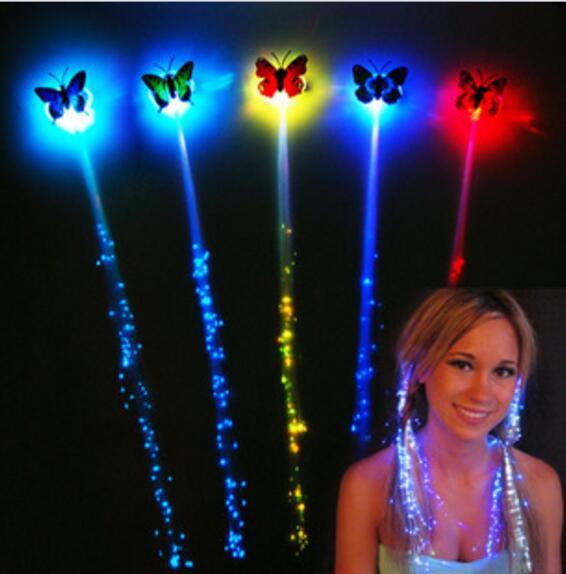 LED jucărie colorată Fluture Hair Girl jucării LED-emitatoare de - Produse noi și jucării umoristice
