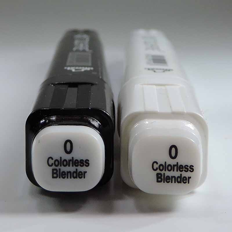 Dual Tips Colorless Blender Marker sketch art Supplies mark pen Alcohol soluble pen cartoon graffiti markers image