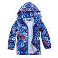 Children Outerwear Coat Sporty Kids Clothes Double-deck Waterproof Windproof Boys Jackets For 5-14T Spring and Autumn