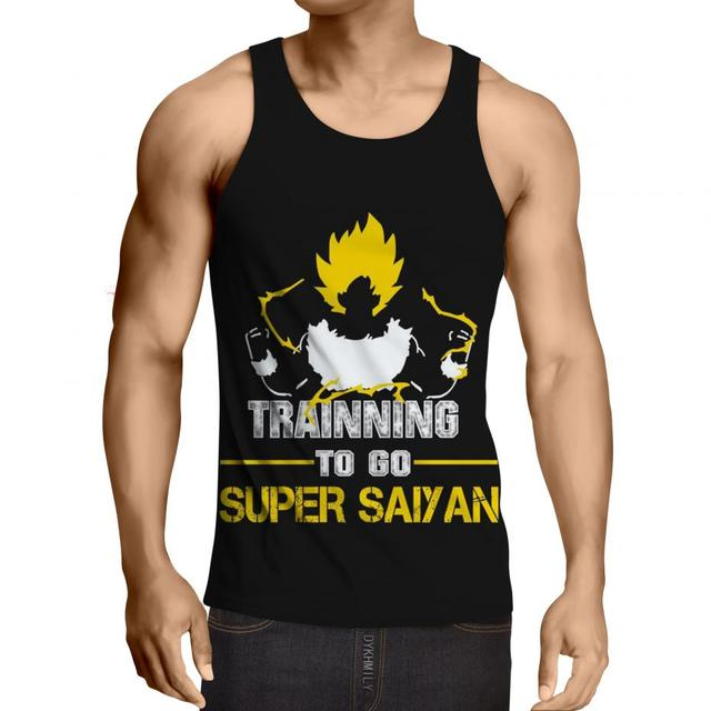 Tank Top 3D Dragon Ball Motivation (6 Design)
