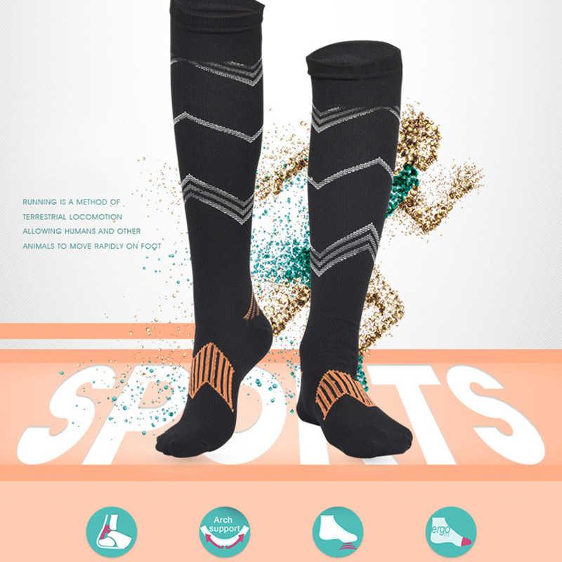 45aeb3e7ba1 ... Compression Stockings Pressure Nylon Varicose Vein Breathable Stocking  Knee High Leg Support Stretch Pressure Circulation Stock ...