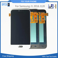 10pcs/lot For Samsung J1 2016 J120 LCD Screen Assembly Mobile Phone Display With Tools