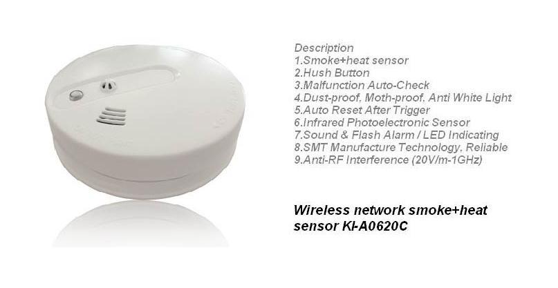 heat+smoke sensor a0620c