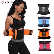 VASLANDA Women Fitness Slimming Belt Shaper waist trainer Body Shapewear Workout Running Training Modeling Strap