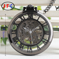 Rome classic stereo mechanical pocket watch cover manual chain watch fashion retro male ladies collection table B002