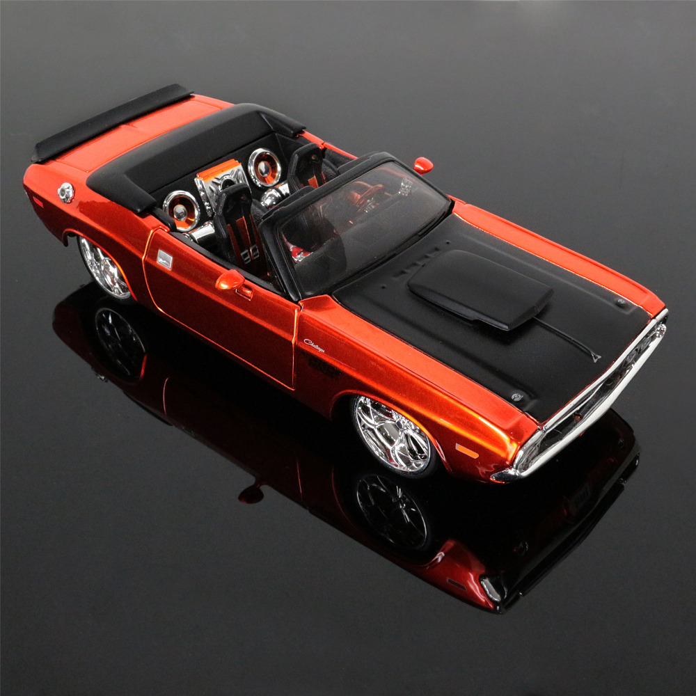 1 24 free shipping dodge challenger the fast and the furious 7 alloy diecast car