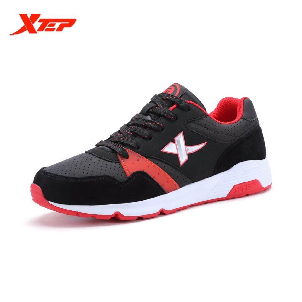 XTEP Brand Light Running For Men Breathable Athletic Outdoor Sports Run Trainers Men's Shoes Sneakers