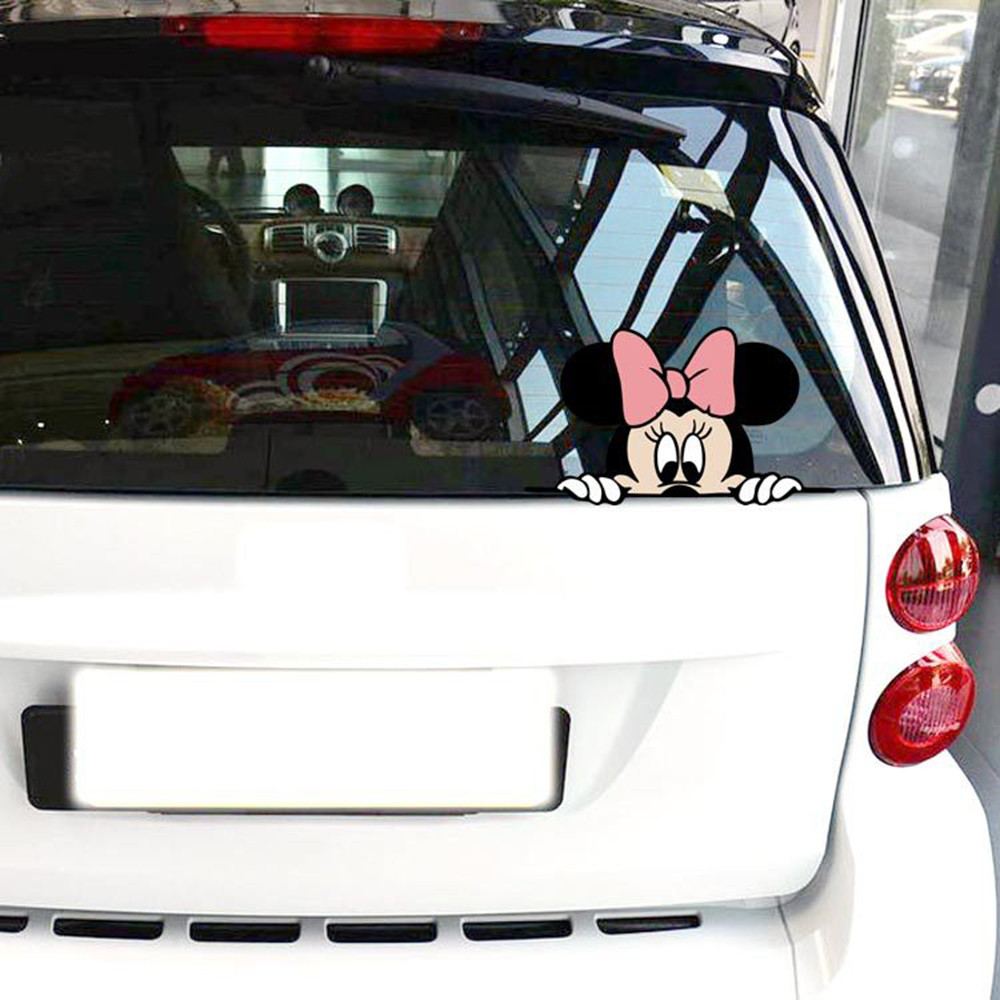 Flip Flops With Mickey Mouse Vinyl Die Cut Decal,window,car,truck,laptop,funny