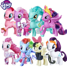 My Little Pony Toys the Movie DJ Pon-3 Big Mcintosh Rainbow  Action Figure Toys For Little Baby Birthday Gift Girl Bonecas 2018 my little pony toys the movie dj pon 3 big mcintosh rainbow dash pinkie pie rarity pvc action figure collectible model doll