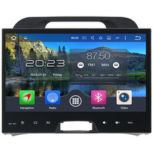 "4GB RAM Android 6.0.1 Octa Core 2 Din 10.1"" inch Multimedia HD Touch Screen Bluetooth MP3 Car radio For Kia Sportage 2010-2012"