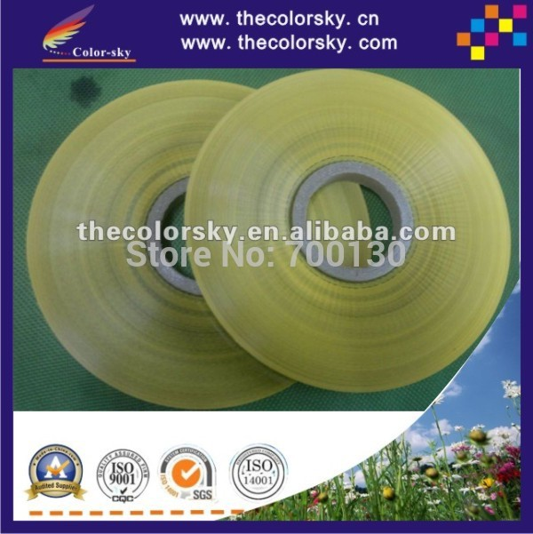 (ACC-roll label) yellow seal sealing tape label for ink inkjet cartridge 380m/roll 23750pcs/roll 16*15mm/pc waterproof seam sealing tape roll satellite self amalgamating rubber sealing tape sealing cable repair lead