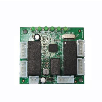mini design ethernet switch circuit board for ethernet switch module 10/100mbps 5 port PCBA board 1