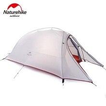NatureHike 1 человек палатка двухслойная палатка водонепроницаемые купольные палатки Кемпинг 4 сезона палатки NH15T001-T с 1 человек напольный коврик