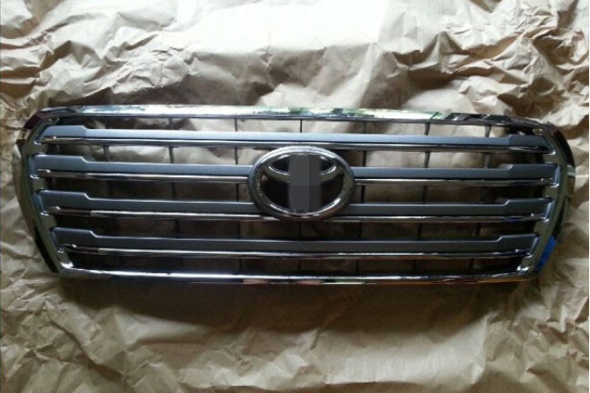 Хром передний центральный решетка гриль планки для Toyota Land Cruiser LC200 FJ200 08-13