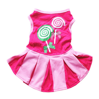 Pet Dog Summer Clothes Girl Princess Dog Dress Chihuahua Teddy Yorkie Puppy Dresses Cute Small Dog Clothes Dress XS-L