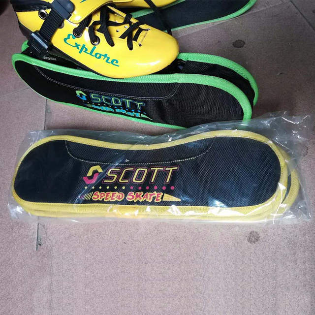 US $25 0 |Professional Speed Inline Skate Frames and Wheels Cover 4*100/  4*110/ 3*110/ 3*125mm Skating Shoes Base For Powerslide Patines-in Scooter
