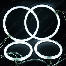 4Pcs/set White CCFL LED Angel Eyes Headlights For LEXUS RX300 Angel Eyes Kits #J-4283