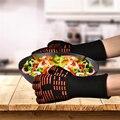 TTLIFE Духовка Митенки Перчатки Барбекю Гриль Кулинария перчатки - 932F Экстремальные Теплостойкие Перчатки Долго Для Дополнительной Защиты Предплечья