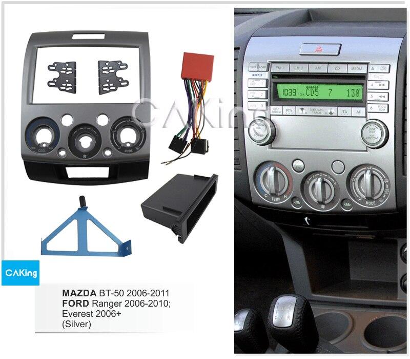 Car Dash Fitting Kit for FORD Ranger 2006 2011 Everest 2006 2013 MAZDA BT 50 2006