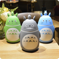 Hot garrafa termica Heathy Stainless Steel Thermos Bottle Belly Cup Thermal Bottle Totoro Model Children Travel Water Bottle