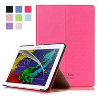 Case Tab2 A10 70 Business PU Leather Stand Case Cover Shield For Lenovo Tab 2 A10
