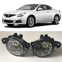 Car Styling For Nissan Altima Coupe 2008 2013 9 Pieces Leds Fog Lights H11 H8 12V