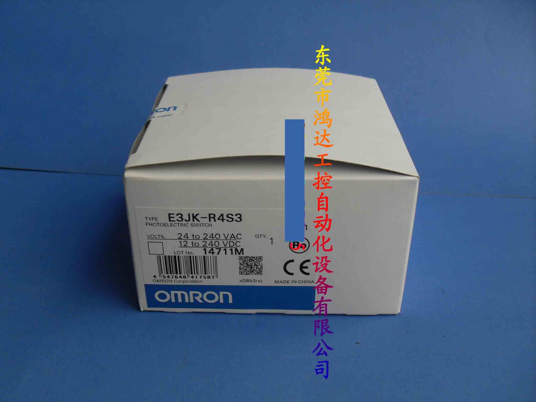 New Photoelectric Switch E3JK-R4S3 2M
