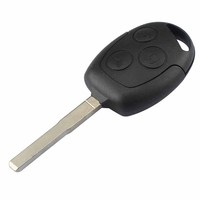 3 Button Remote Key Fob 433MHz With 63 Chip For Ford Focus Fiesta Mondeo Galaxy C