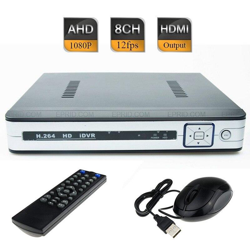 8CH AHD-H 1080 P Non In Tempo Reale del CCTV Hybrid DVR HD NVR HVR Porta HDMI P2p copertura8CH AHD-H 1080 P Non In Tempo Reale del CCTV Hybrid DVR HD NVR HVR Porta HDMI P2p copertura