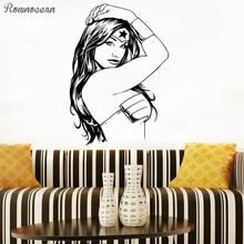 Wonder Woman Sticker Comics Super Girl Action Film Hero Vinyl Art Decor Teens Decorations Gift Room Decals Wall Graphics SP11
