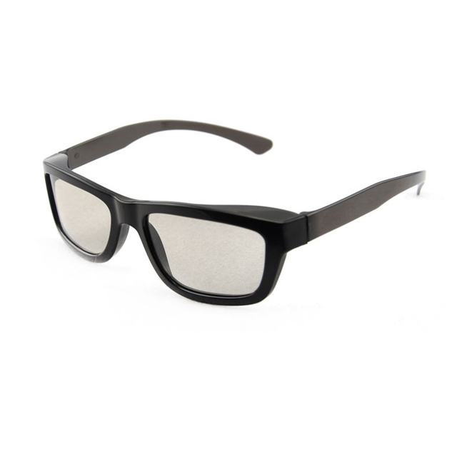 (3 pieces/lot) 100% Brand New Cheap Circular Passive 3D Glasses for FPR Cinema LG 3D Televisions and RealD 3D Cinemas