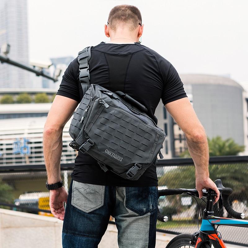 OneTigris sac de messager tactique pour hommes sac à bandoulière militaire pour hommes de voyage ou de vie urbaine - 2