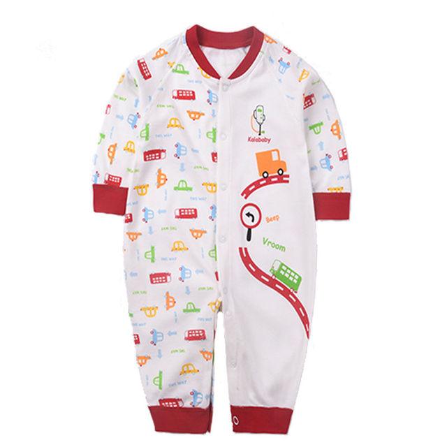1pc Good Quality Unisex Romper Newborn Baby Boy Jumpsuit Cotton Suit