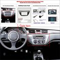 Coche que reinstala el marco de dvd de navegación gps para mitsubishi lancer ix 2006 2 DIN CD DVD Salpicadero Panel Kit/Frame Radio Audio ABS Fascia