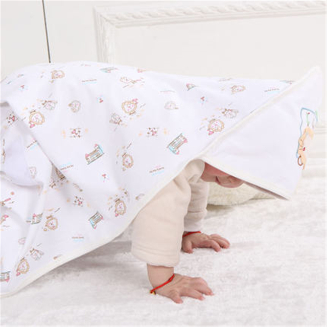 Manta de bebé Recién Nacido de Invierno Cálido Bebé Swaddle Comodidad Couverture de Dormir de Algodón Recién Nacido Ropa de Cama Mantas de Bebé 50X0022