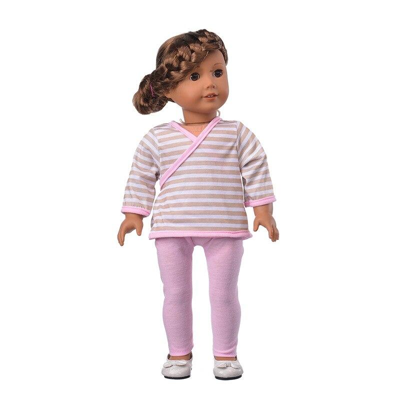 Лучший подарок для детей мода ручной 18 Дюймов American Girl Кукла одежда (без обуви) Бесплатная доставка b615