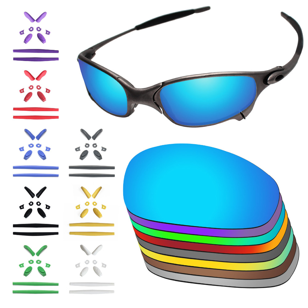 7d4f1c9cadc PapaViva Replacement Lenses and Rubber Kit for Authentic Juliet Sunglasses  Frame - Multiple Options