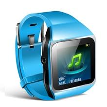 """¡ Venta caliente! 367 8 GB Deportes Reloj Bluetooth mp3 reproductor de Música con 1.5 """"Soporte de Pantalla Táctil de Bluetooth del jugador de FM Metro Pedo W"""