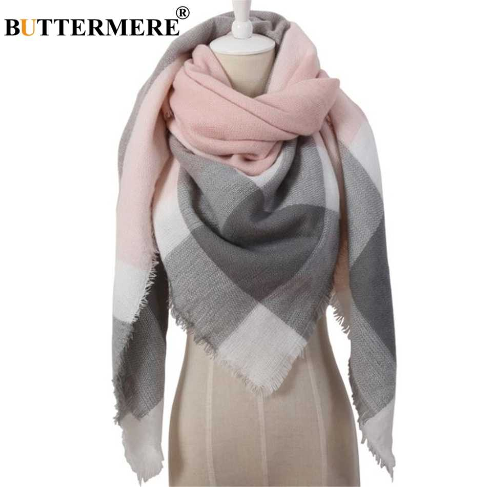 BUTTERMERE шарф женский плед одеяло шарф женский теплый пашмины обертывание кашемировый бренд британский стиль женские шали и шарфы