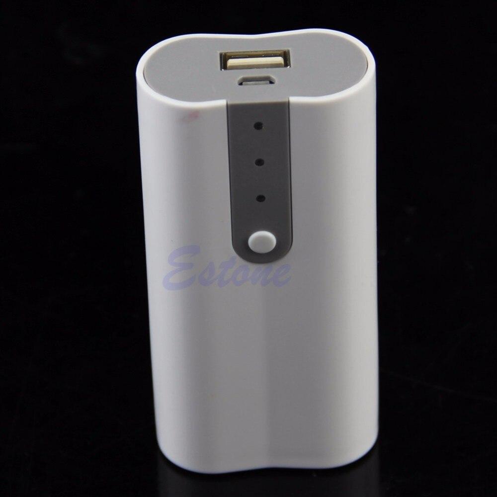 2 x 18650 USB נייד כוח בנק מטען סוללה תיבת תיק ערכת DIY עבור MP3 iPhone