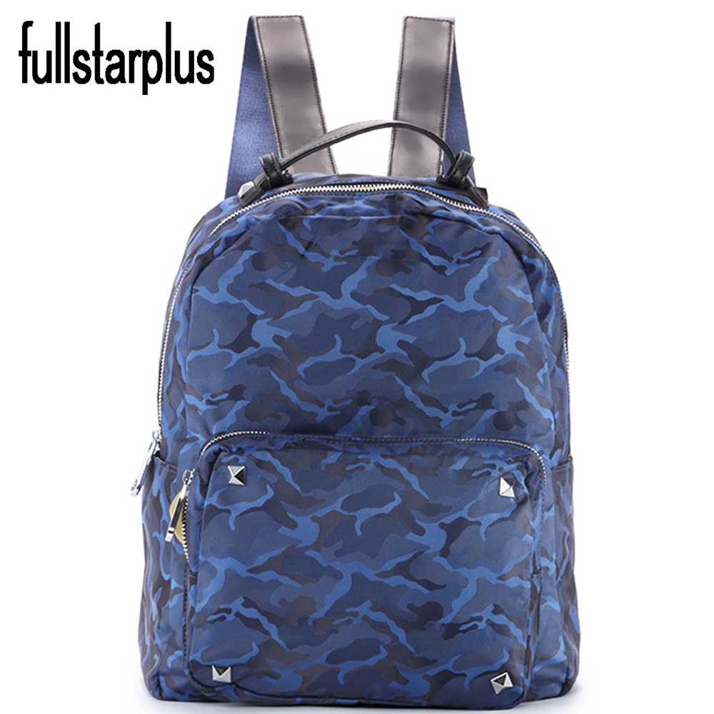 NEW Supreme Multicolor Feminina Imported nylon Backpack Star Girls School Women tourism Backbag Mochila