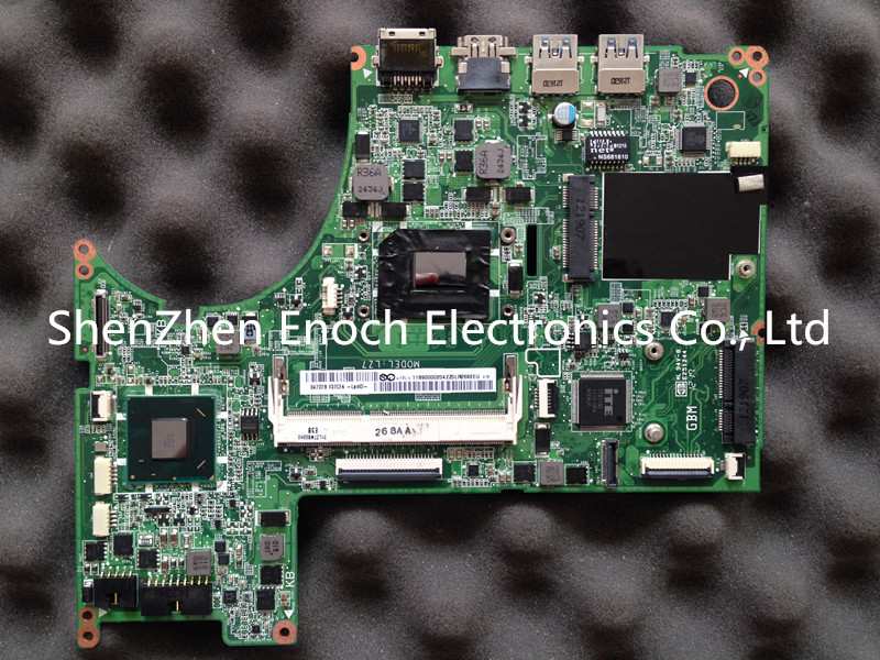 For Lenovo U310 Integrated laptop font b motherboard b font I3 2367U processor DA0LZ7MB8E0 on the