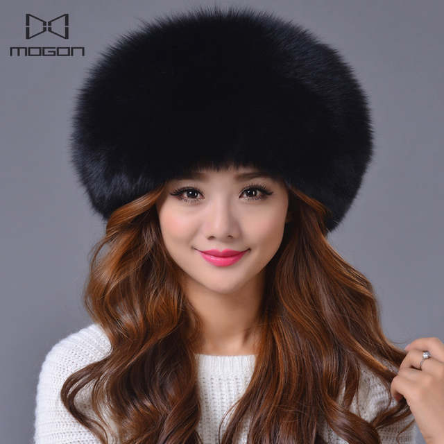 2016 Special Offer Solid New Arrival Winter Fur Caps Genuine Mink Women Knitted Ear Hat With Fox Ball Pom Poms Female Hats