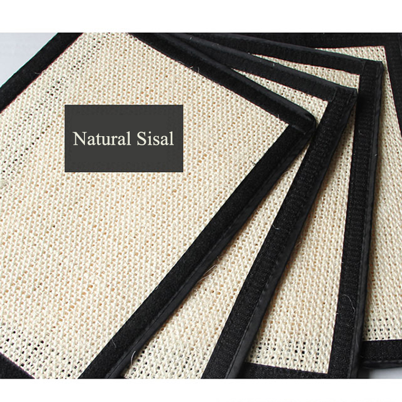 Furniture Protect Cat Kitten Scratch Board Pad Sisal Scratcher Mat Claws Care Cat Toy Product Sofa Scratching Post Protect #6