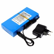 GTF Hot selling 12000mAh Lithium Ion High Capacity Rechargeable Battery AC Power Charger US/EU Plugs Drop Shipping Promotion стоимость