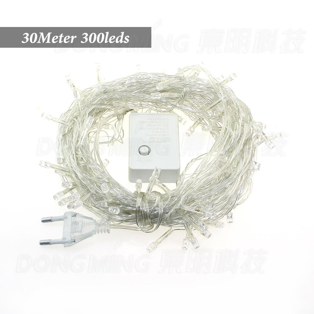 hight resolution of 30m 300 led christmas tree lights string light holiday wedding decoration string of lights 110v 220v 4 colors to select in led string from lights lighting