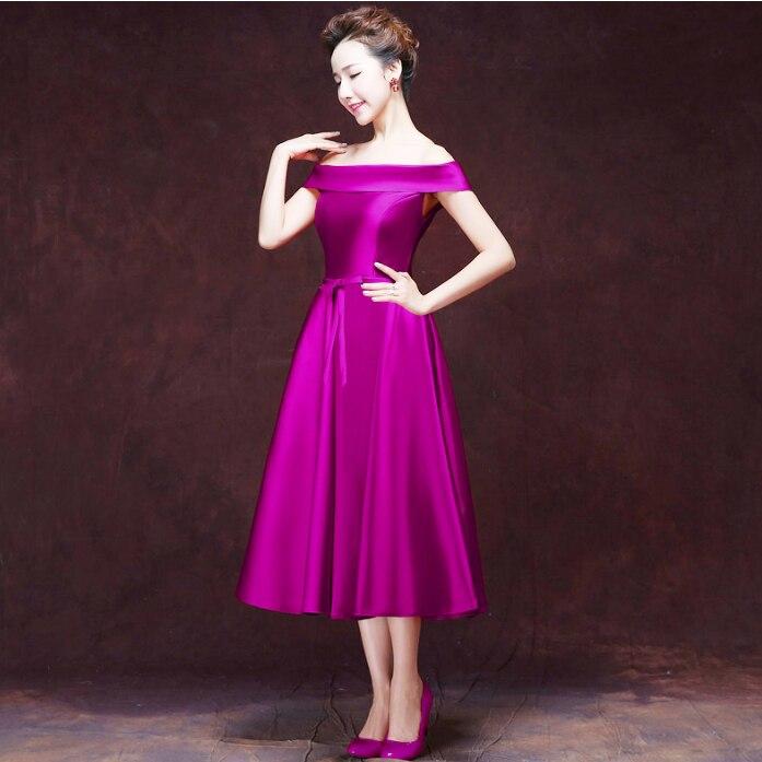 Vistoso Vestidos De Cóctel Púrpura Baratas Bosquejo - Vestido de ...
