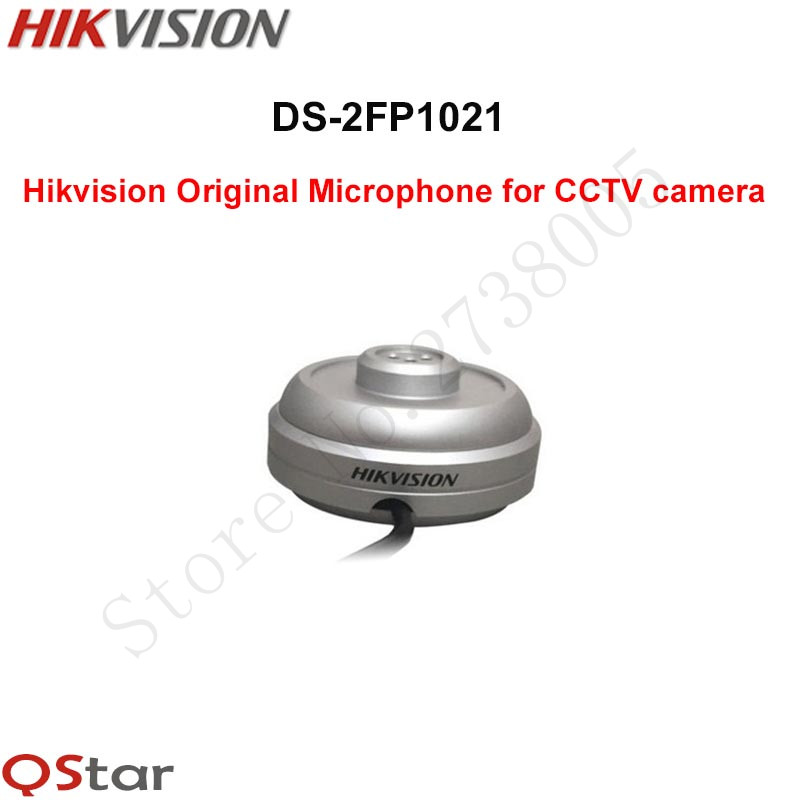 DS-2FP1021 Hikvision Original Microphone for CCTV camera css clear crystal glass cabinet drawer door knobs handles 30mm