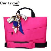 Waterproof Laptop Sleeve bag 14 15 inch Notebook Bag Women Shoulder Messenger Lady Handbag Crossbody sling Bag computer business