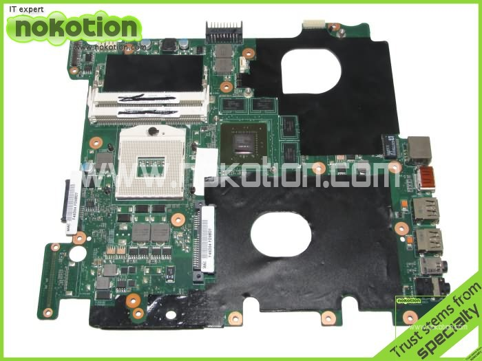 laptop motherboard for Asus N43SL Main board HM65 with Nvdia Graphics Card